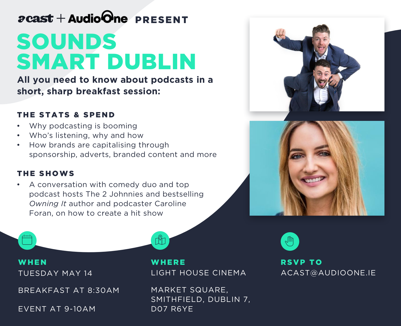 Podcast Workshop comes to Dublin