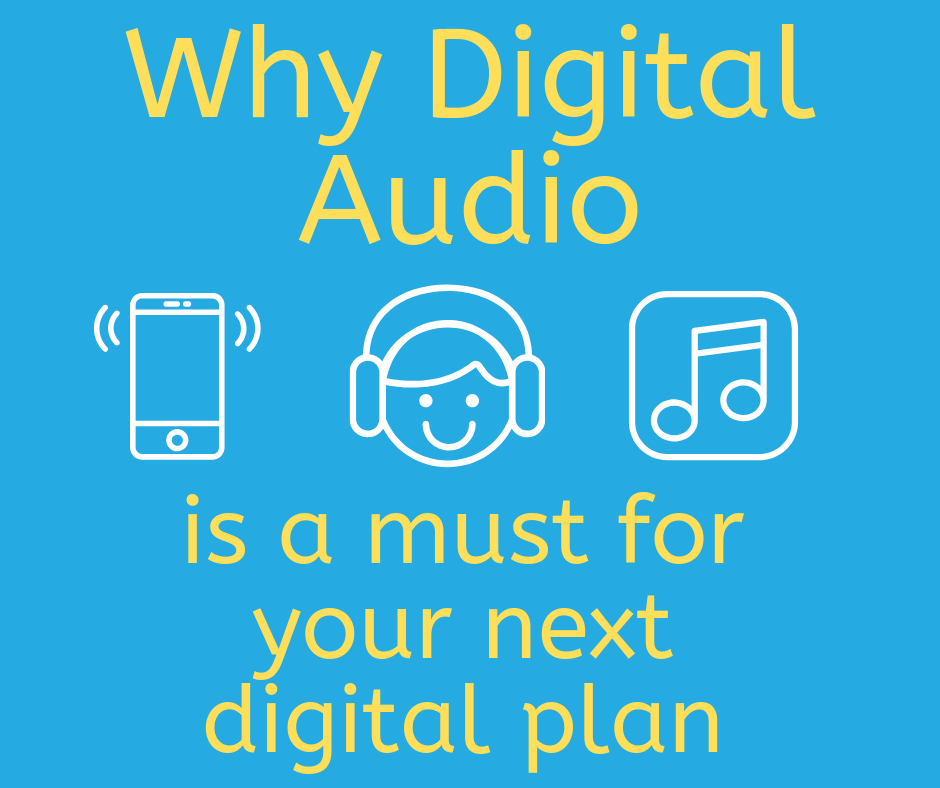 Why Digital Audio is a must on your Digital Plan